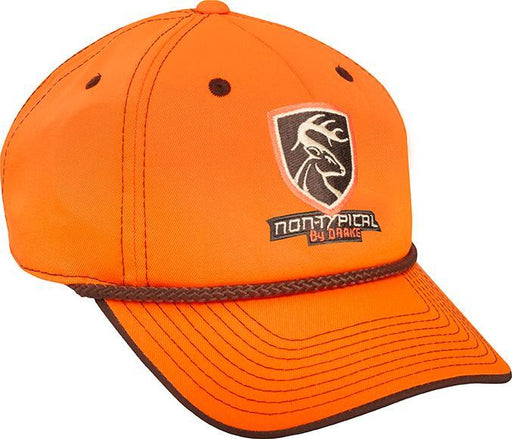 Drake - Non-Typical 5-Panel Blaze Orange Cap - Hi Vis ACC.HAT CAP ICON OUTDOORS LLC