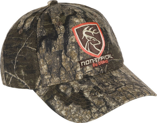 Drake - Non-Typical Logo Realtree Timber Camo Cotton Cap ACC.HAT CAP ICON OUTDOORS LLC