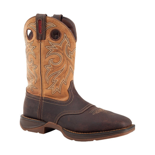 "Durango Men's 11"" Rebel Pull-On Western Boot - Steel Toe MENS BOOTS-T WESTERN & WORK DURANGO BOOT"