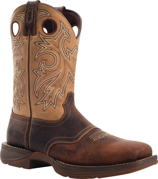 "Durango Men's 11"" Rebel Saddle Up Western Boot MENS WESTERN SQUARETOE DURANGO BOOT"