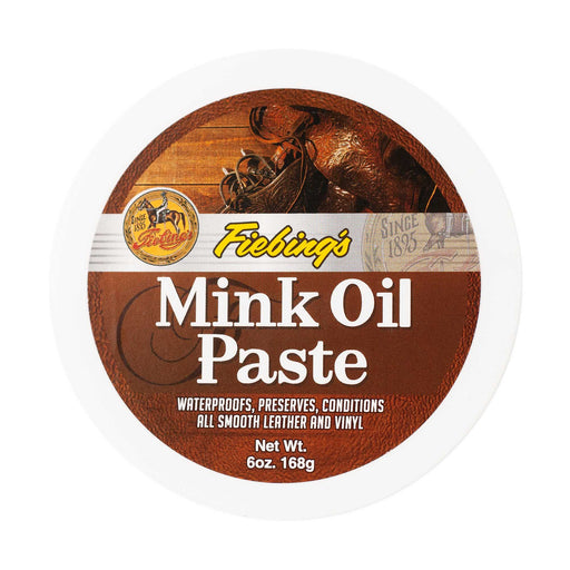 Fiebings - 6 oz. Mink Oil Paste ACC.CARE CONDITIONER M&F WESTERN PRODUCTS, INC