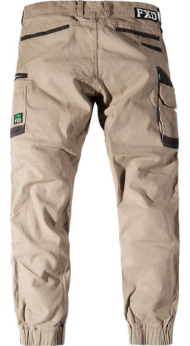 FXD Men's - WP 4 Work Pants - Cuffed WORK AP.CARGO CANVAS FUNCTION BY DESIGN