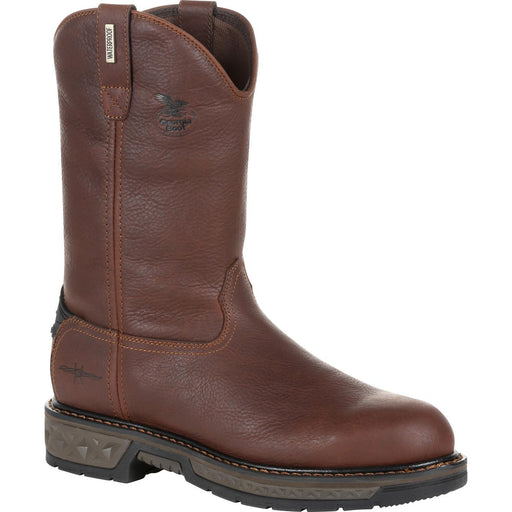 "Georgia Men's - 11"" Waterproof Carbo-Tec LT Wellington - Round Toe MENS BOOTWATRPROOFNON-SAFETY GEORGIA BOOT"