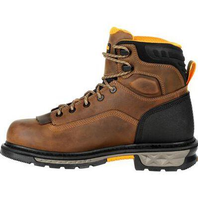 "Georgia Men's - 6"" EH/Waterproof Carbo-Tec LTX - Soft Toe MENS LACEWATERPRF NON- SAFETY GEORGIA BOOT"