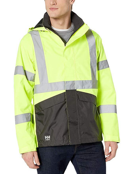 Helly Hansen Men's - Alta Shell Jacket - High Vis ME.AP.OUTERWEAR HI VISABIL HELLY HANSEN
