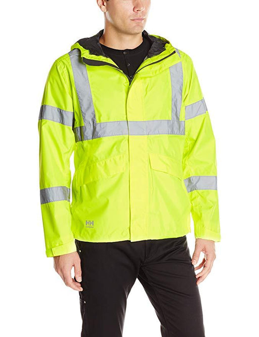 Helly Hansen Men's - Alta Shelter Jacket - High Vis ME.AP.OUTERWEAR HI VISABIL HELLY HANSEN