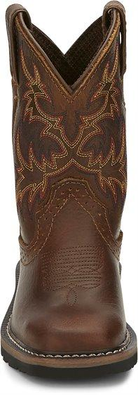 Justin Kid's - Cattleman Western Boot - Square Toe CHILDRENSBOOTSQ TOE JUSTIN BOOT CO.