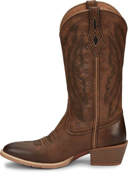 "Justin Women's - 12"" Roanie - Pointed Toe WOMENS BOOT WESTERN JUSTIN BOOT CO."
