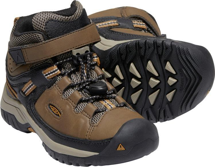 Keen Little Kids' - Targhee Waterproof - Velcro Strap CHILDRENSBOOT LACEWORK KEEN OUTDOOR