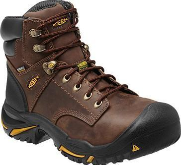 "Keen Men's 6"" Mt Vernon Mid – Round Steel Toe MENS LACEWATRPROOFSAFETY TOE KEEN FOOTWEAR"