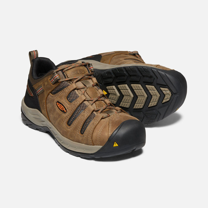 Keen Men's - EH Flint II - Steel Toe MENS BOOTLACE STEEL-TOE KEEN FOOTWEAR