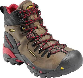Keen Men's Pittsburgh Waterproof – Steel Toe MENS LACEWATRPROOFSAFETY TOE KEEN FOOTWEAR