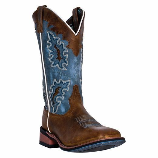 "Laredo Women's 11"" Isla – Broad Square Toe WOMENS BOOT WESTERNSQUARE TOE DAN POST BOOT COMPANY"