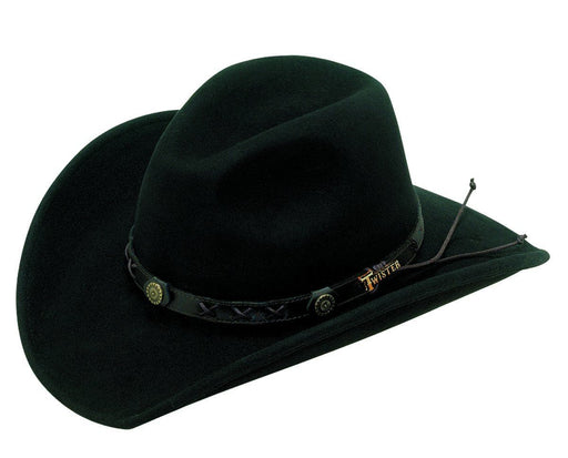 M&F Western Products Twister® Casual Black Dakota Cowboy/girl Hat ACC.HAT CRUSHABLE M&F WESTERN PRODUCTS, INC
