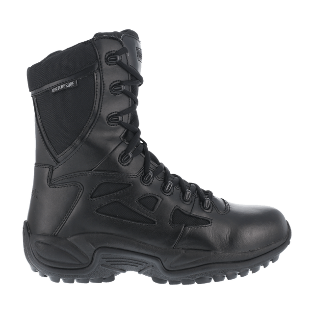 "Reebok Men's - 8"" EH/Waterproof Rapid Response - Soft Toe MENS BOOTLACE UNIFORM NON-SFY WARSON GROUP INC"