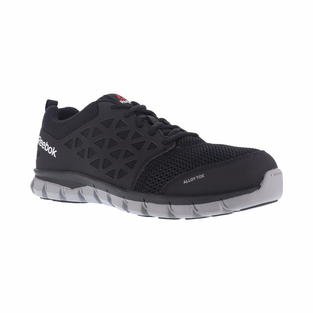Reebok Men's Sublite Cushion Athletic Work - Round Alloy Toe MENS BOOTLACE STEEL-TOE WARSON GROUP INC