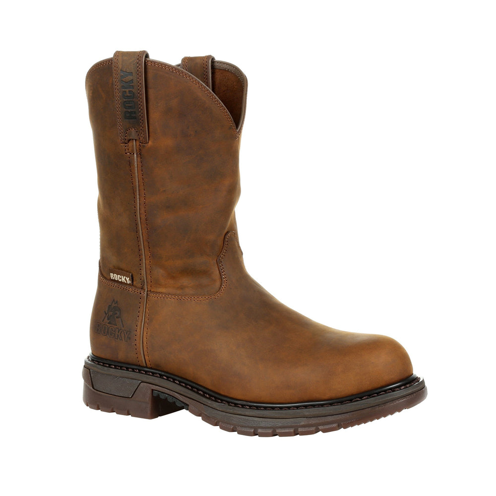 Rocky Men's - Original Ride Waterproof - Steel toe MENS BOOTS-T WESTERN & WORK ROCKY SHOES & BOOTS INC