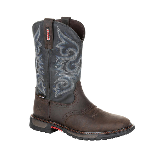 "Rocky Women's - 10"" Original Ride FLX Western Waterproof - Square toe WOMENS BOOT WTRPROOFNON-SAFTY ROCKY SHOES & BOOTS INC"