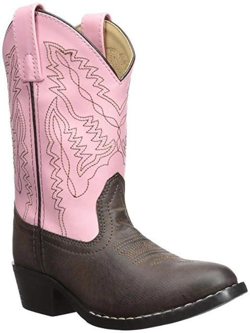 Smoky Mountain Big Kids - Hopalong Boot - Round Toe CHILDRENSBOOT WESTERN SMOKY MOUNTAIN BOOTS