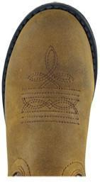 Smoky Mountain Children's Brown Buffalo Wellington – Buffalo Toe CHILDRENSBOOT WESTERN WORK SMOKY MOUNTAIN BOOTS