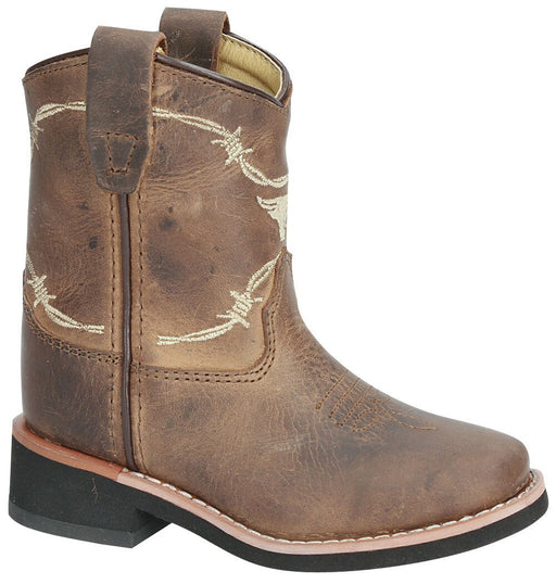 Smoky Mountain Toddlers - Logan Western Boot - Square Toe CHILDRENSBOOTSQ TOE SMOKY MOUNTAIN BOOTS