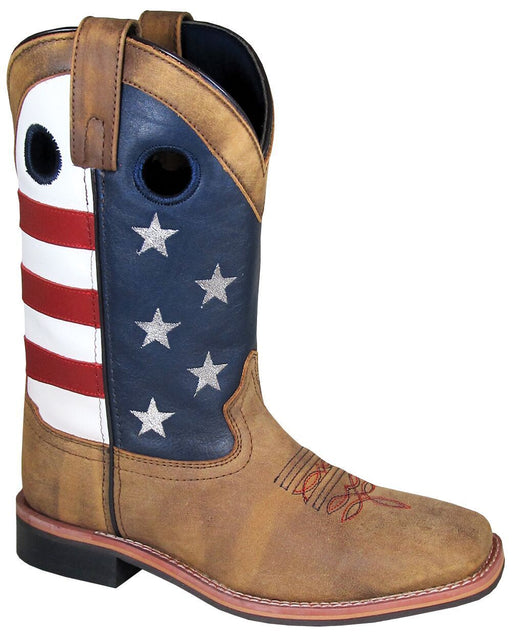 Smoky Mountain Women's - Stars and Stripes - Square Toe WOMENS BOOT WESTERNSQUARE TOE SMOKY MOUNTAIN BOOTS