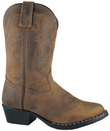 Smoky Mountain Youth Brown Denver - Western Toe CHILDRENSBOOTYOUTH SMOKY MOUNTAIN BOOTS