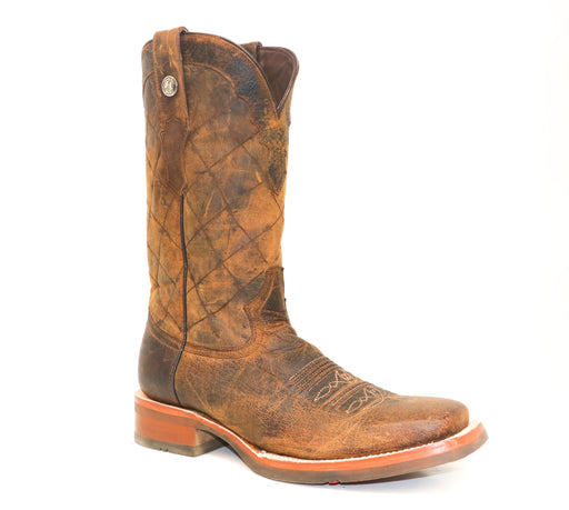 "Tanner Mark Men's - 13"" Buffalo Honey - Wide Square toe MENS WESTERN SQUARETOE YWD INC."