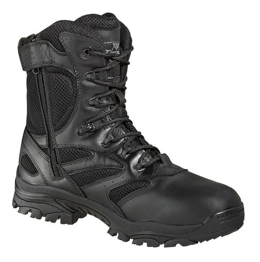"Thorogood Unisex 8"" Waterproof Side Zip MENS BOOTLACE UNIFORM NON-SFY WEINBRENNER SHOE CO. INC"