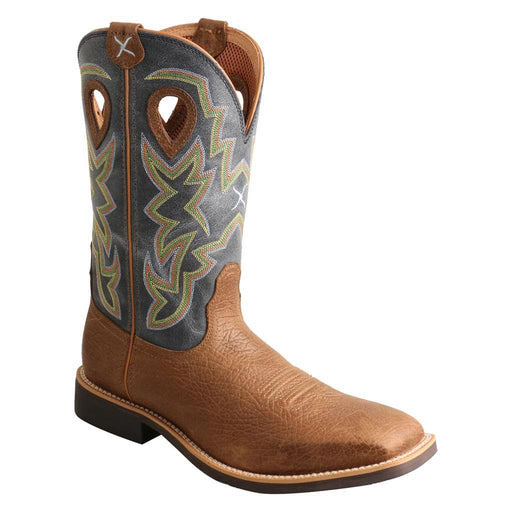 "Twisted X Men's - 11"" Top Hand Western Boot - Square Toe MENS WESTERN SQUARETOE TWISTED X BOOTS"