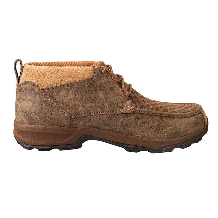 "Twisted X Men's - 4"" Woven Bomber Moc Chukka MENS BOOTMISC. TWISTED X BOOTS"