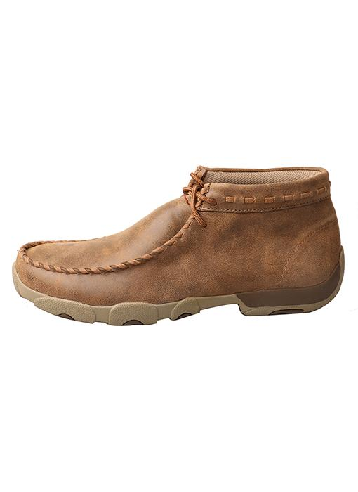 Twisted X Men's - Chukka Moc MENSSLIP ON/TIEMOC/SHOE TWISTED X BOOTS