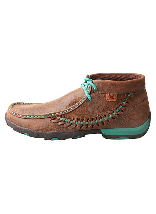 Twisted X Women's - Turquoise Stitch Chukka Moc WOMENS BOOT MOCCASIN TWISTED X BOOTS