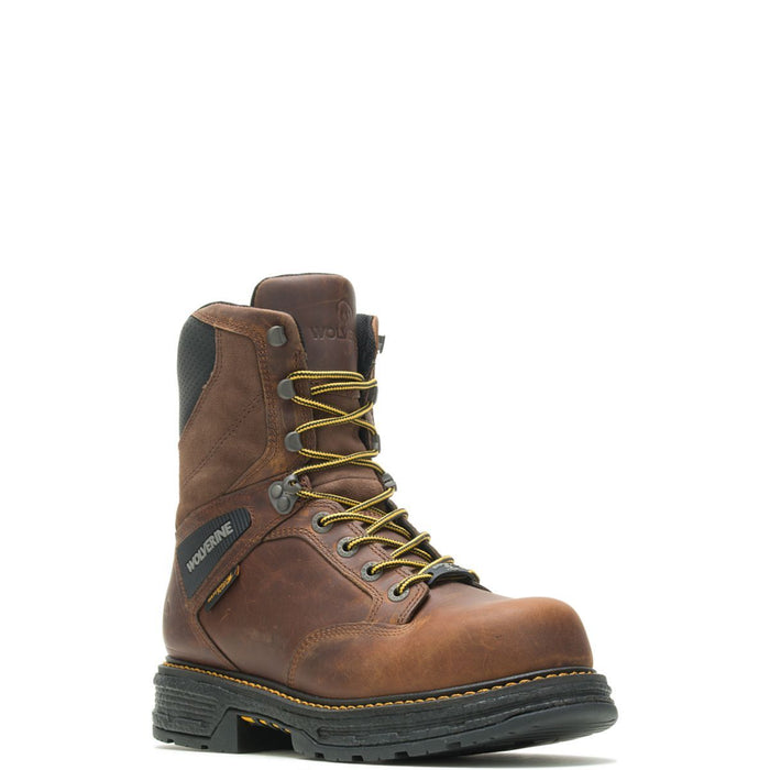 "Wolverine Men's - 8"" EH/Waterproof Hellcat Ultraspring Carbonmax - Comp Toe MENS LACEWATRPROOFSAFETY TOE WOLVERINE WORLD WIDE, INC"