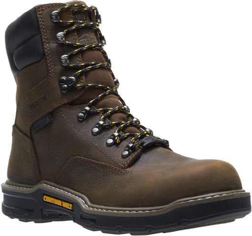 "Wolverine Men's 8"" Waterproof Bandit - Comp Toe MENS LACEWATRPROOFSAFETY TOE WOLVERINE WORLD WIDE, INC"
