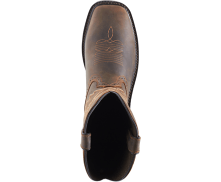 Wolverine Men's Rancher Wellington - Square Non-Safety Toe MENS WORKSQ T NON SAFETYWTRP WOLVERINE WORLD WIDE, INC
