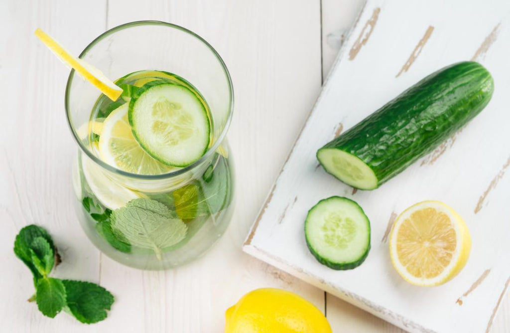 Recipe: Grocer Spritz with Lemon & Cucumber.