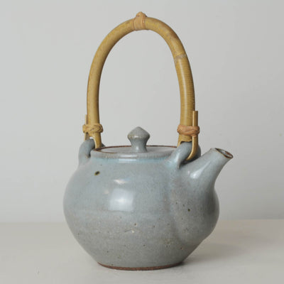 Charlie Collier Cane Handle Teapot