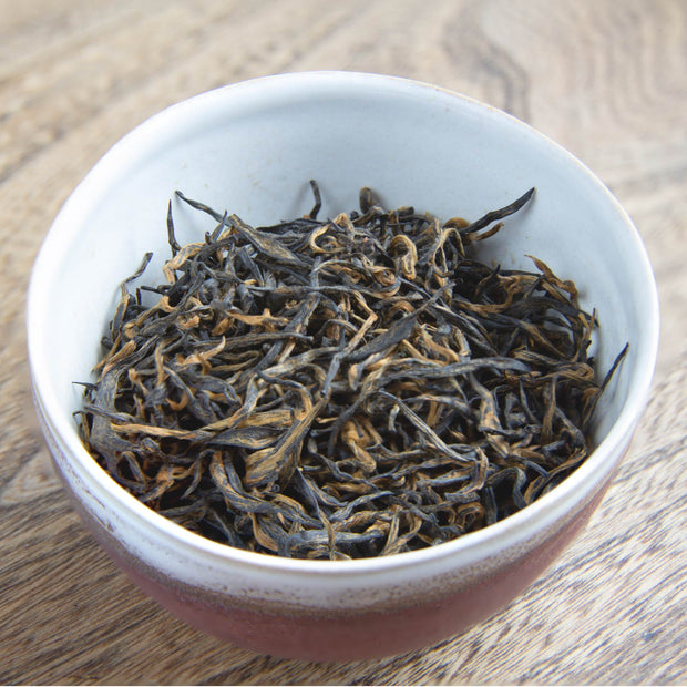 Extremely Rare Chinese Emperor's Golden Eyebrow Black Tea
