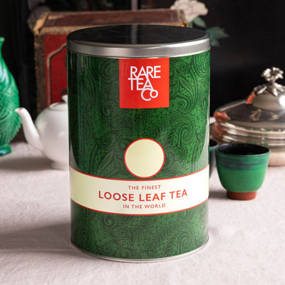 Empty Large Rare Tea Tin