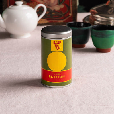 Empty Small Rare Tea Tin