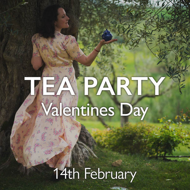 Valentine's Day Virtual Tea Party