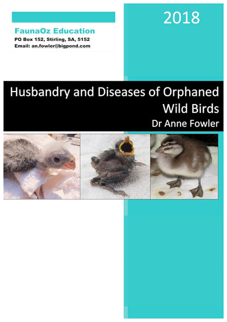Husbandry & Diseases of Orphaned Wild Birds (2nd Edition, 2018), Dr Anne Fowler