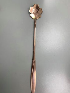 Stainless Steel Flower Tea Spoon