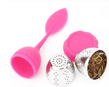 Load image into Gallery viewer, Stainless Steel Tea Ball Leaf Tea Strainer for Brewing