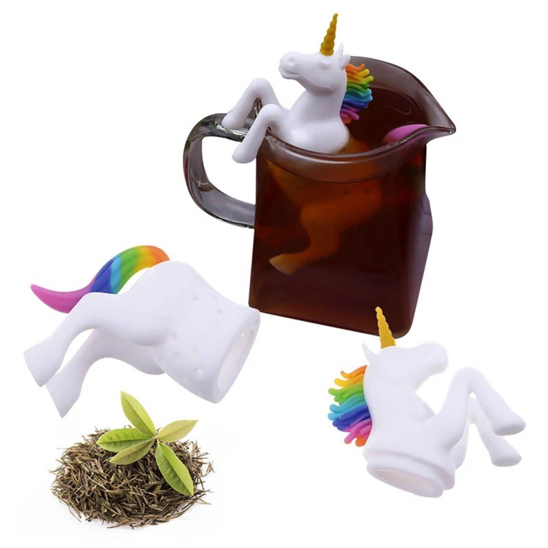 Unicorn shape eco friendly tea infuser for brewing