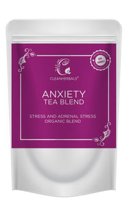 1kg Anxiety Tea Blend-Adrenal Stress, Anxiety and Stress