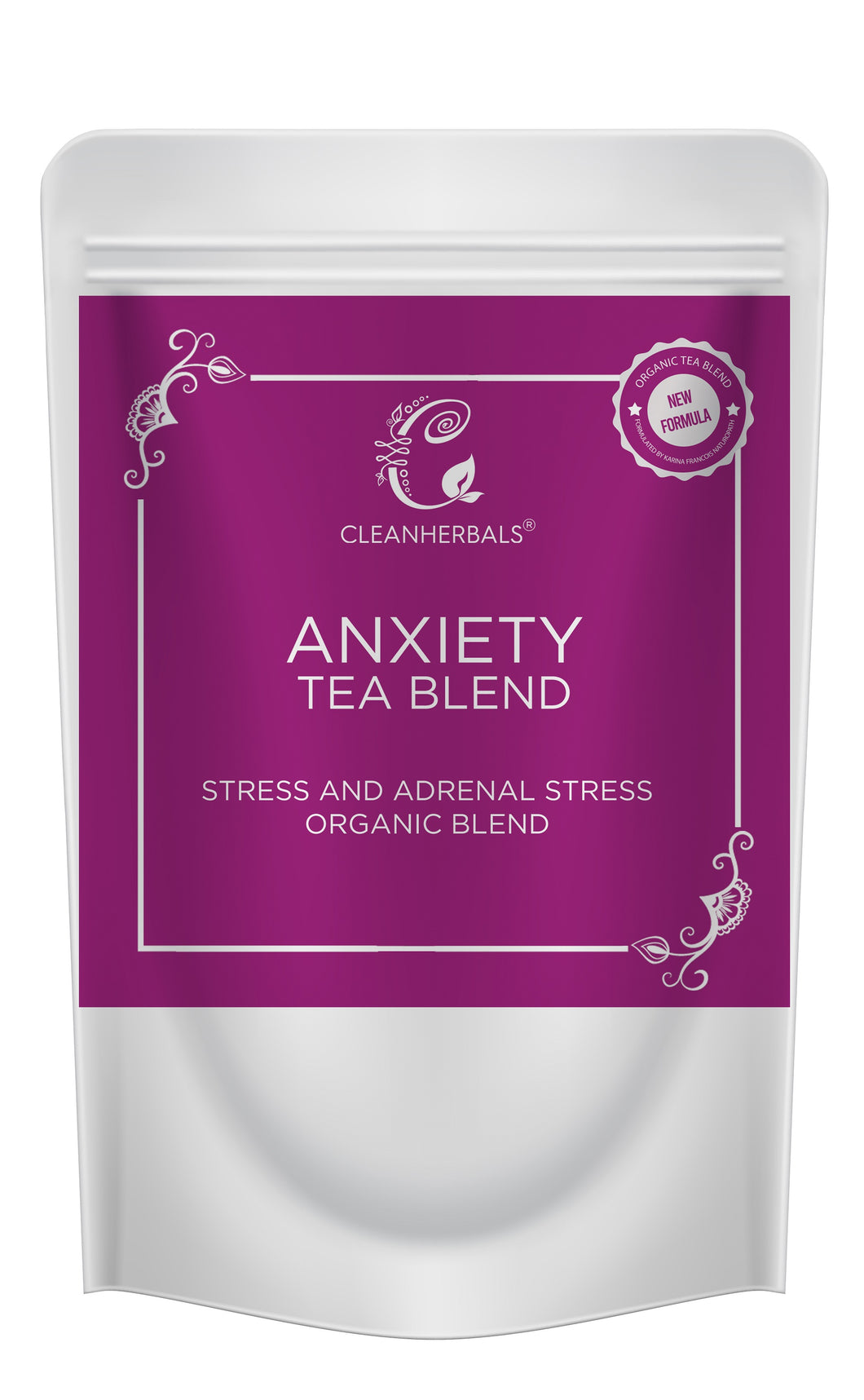 28 gm Anxiety Blend-Adrenal Stress, Anxiety and Stress & Thermos Pack
