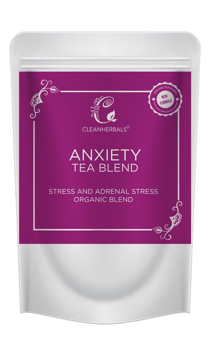 50 gm Anxiety Blend-Adrenal Stress, Anxiety and Stress & Thermos Pack