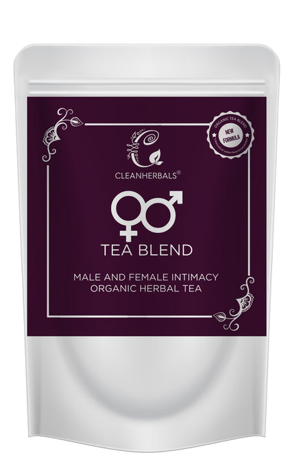 50 gm ♀♂ Tea Blend Male and Female Intimacy Organic Herbal Tea & Thermos Pack